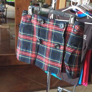 GAP wool skirt plaid